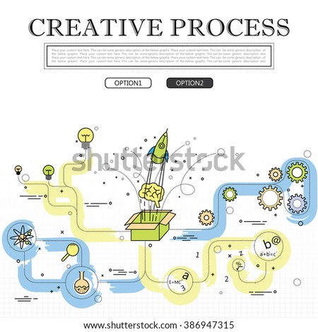 Royalty Free Stock Photos and Images: line drawing of concept of ...