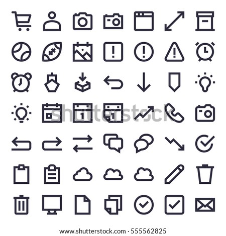 line essential icons 41