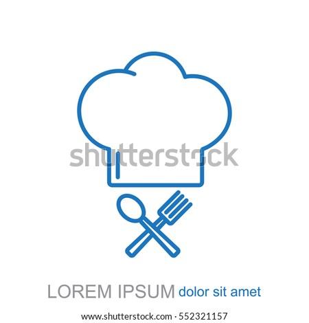 Line icon- chef
