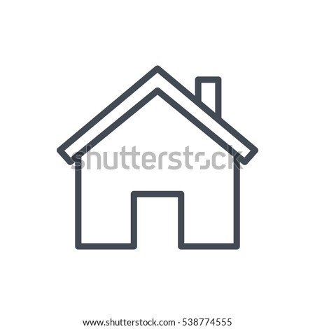 Line Icon house icon