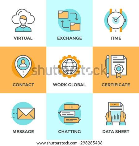 International Business online type work