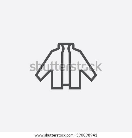 line jacket icon