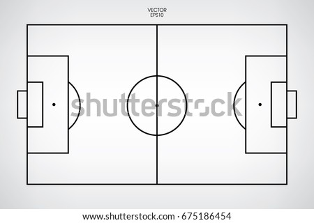 line of football field or