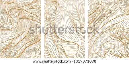 line pattern in luxury style