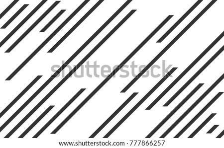 Line pattern, speed lines