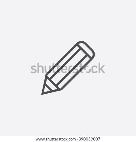 line pencil Icon
