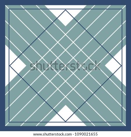 line scarf pattern #1090021655