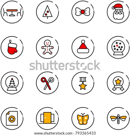 line vector icon set   cafe