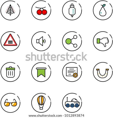 line vector icon set