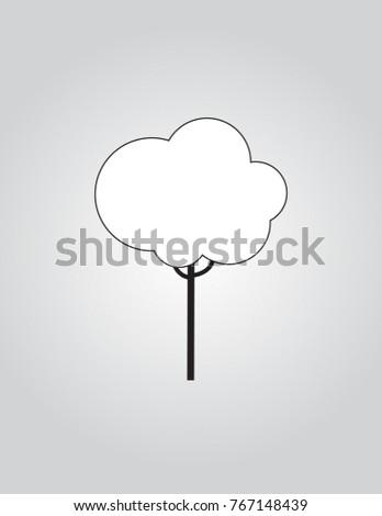 Line vector tree