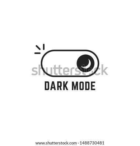 linear darkmode black switch