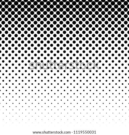 Linear halftone pattern. Circles, speckles, polka dot background / pattern