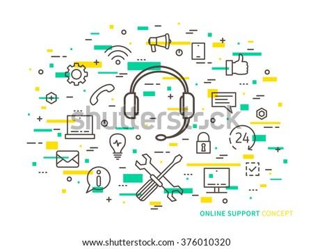 linear online support  online