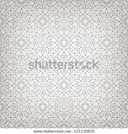 stock-vector-linear-seamless-pattern-stylish-decor-with-elegant-lines-and-curls-decorative-ornamental-lattice