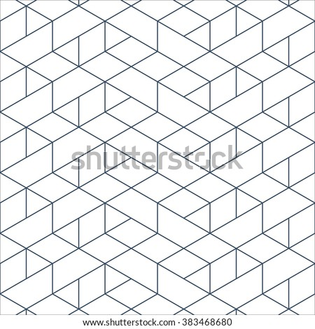 Linear seamless pattern. Subtle geometric background