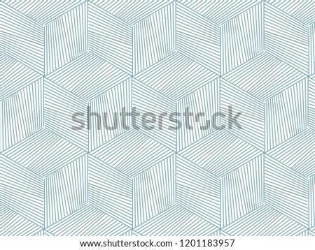 Linear vector pattern, linear cube