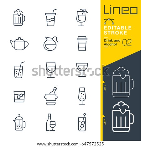 lineo editable stroke   drink