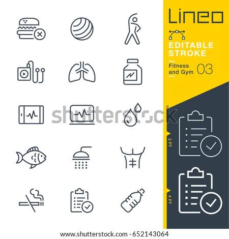 lineo editable stroke   fitness