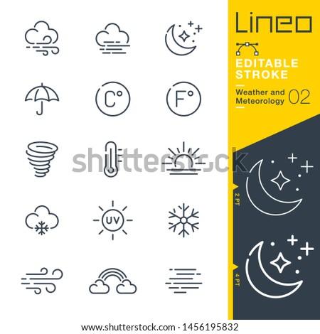 lineo editable stroke   weather