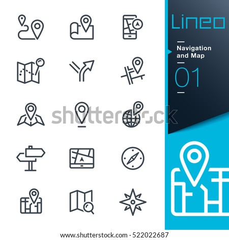 lineo   navigation and map line
