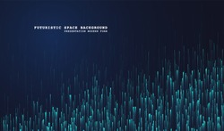 Lines composed of glowing backgrounds. Abstract modern lines. Cool gradient shapes. Graphic concept for your design