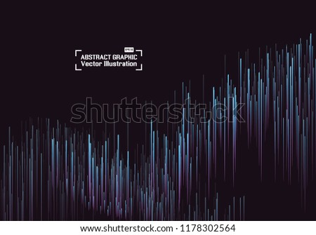 Lines composed of glowing backgrounds, abstract vector background #1178302564