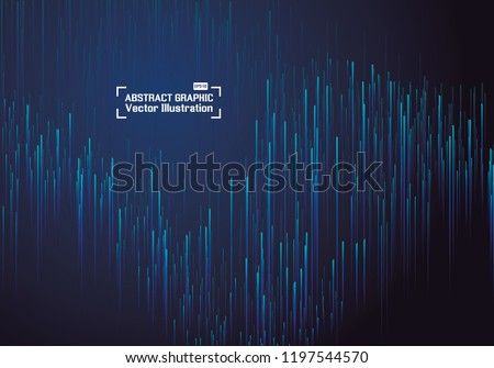 Lines composed of glowing backgrounds, abstract vector background #1197544570