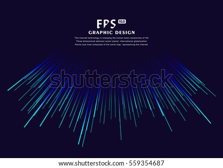 Lines composed of glowing backgrounds, abstract vector background #559354687