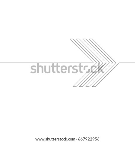 Lines Design . Vector Arrow Background.Abstract Geometrical illustration.