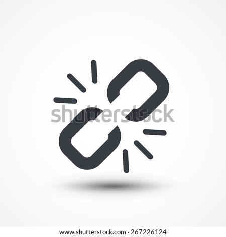 link break icon broken