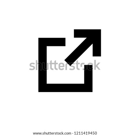Link icon. Hyperlink chain symbol. External link symbol vector icon. Download, Share, and Load More Icons