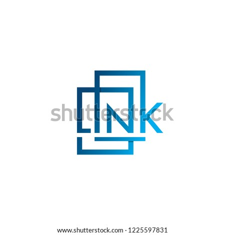 Link Icon, Link Concept, Typography Icon