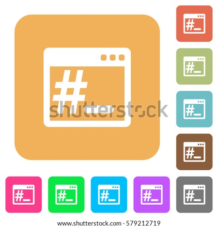 linux root terminal flat icons