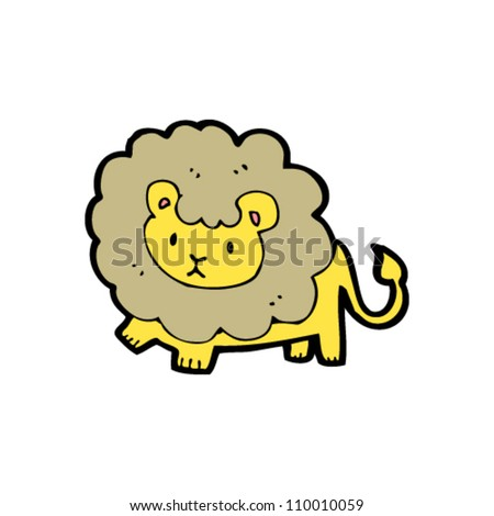 Lion Cartoon Character on All In A Single Layer Lion Character Find Similar Images