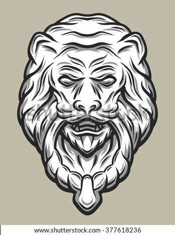 Lion Door Knocker Tattoo Meaning Best Lion 2017