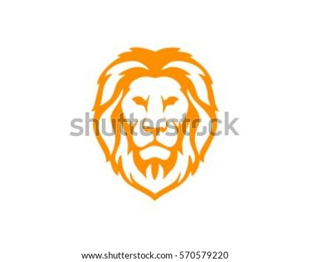 lion head vector design