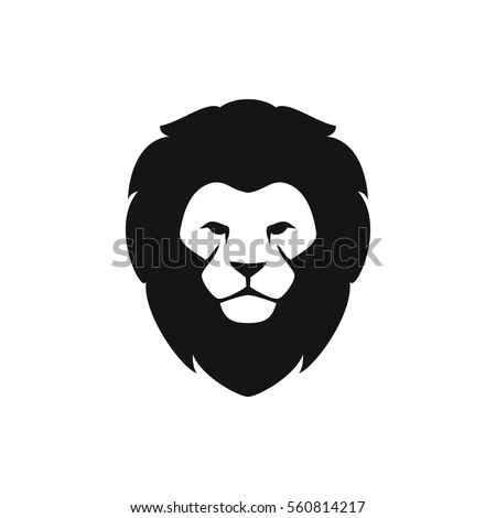 lion icon illustration isolated