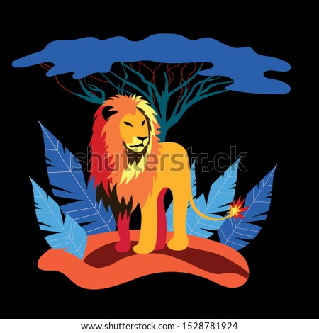 lion king king of all beasts