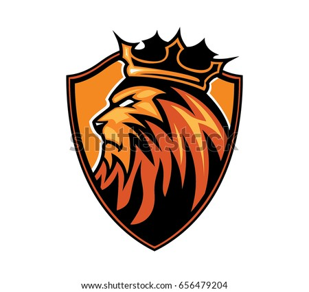 Lion Badge Download Free Vector Art Stock Graphics Images