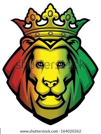 lion rasta head