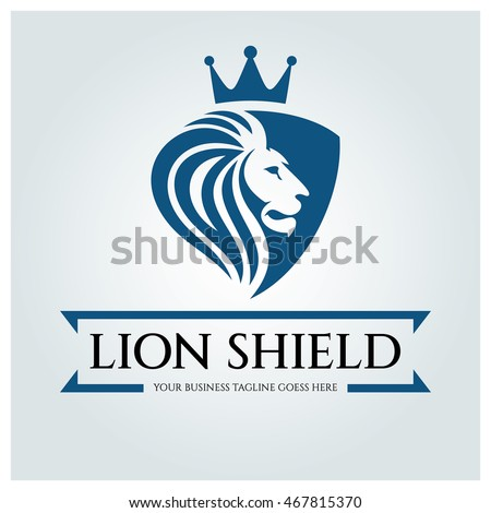 Vector images illustrations and cliparts lion shield logo design lion shield logo design template business sign vector illustration wajeb Choice Image
