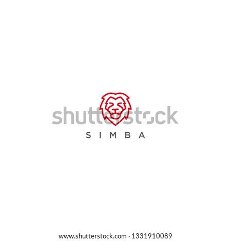 lion  simba logo