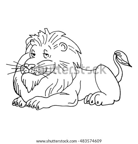 lion vector lion icon lion