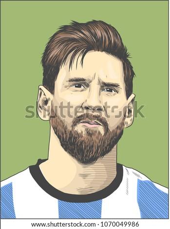 lionel messi  an argentine