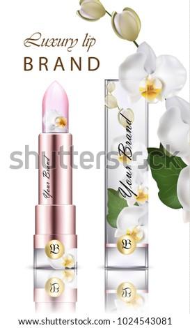 lipstick cosmetics realistic