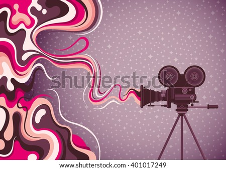 liquid abstraction with movie