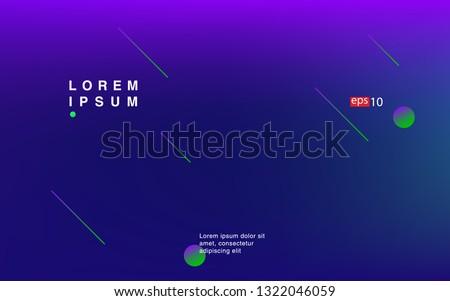 Liquid color background design Fluid gradient shapes composition Futuristic design posters for landing page #1322046059