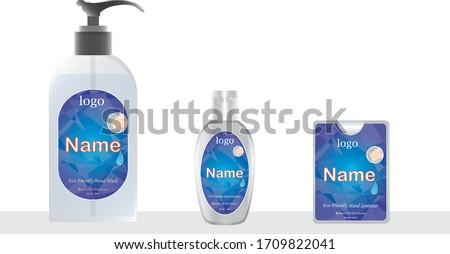 liquid soap and pocket hand