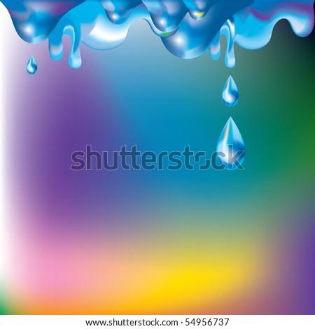Liquid substance background
