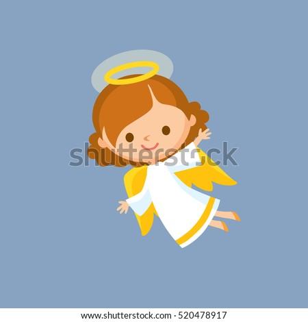 little baby christmas angel
